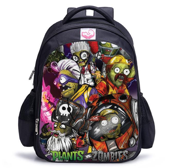 Рюкзак школьный городской Растения против зомби