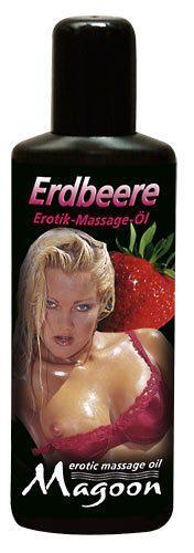 Массажное масло - Erdbeere Öl 100 мл   Massageöl