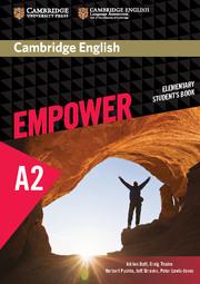 Учебник Cambridge English Empower A2 Elementary Student's Book