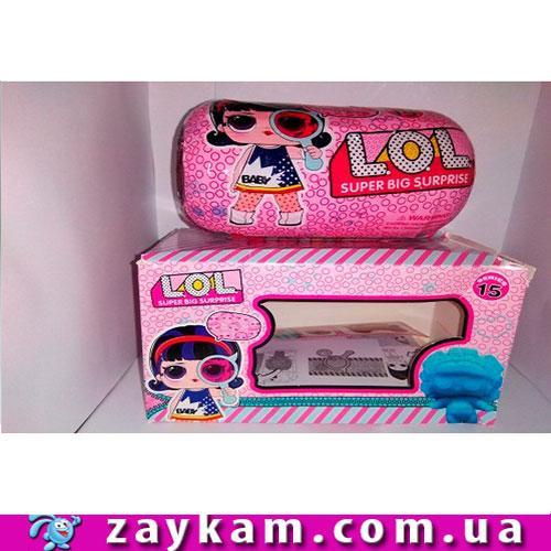 Лялька K92705 LOL super big surprise в капсулі. Коробка 17,5-10-10 герої