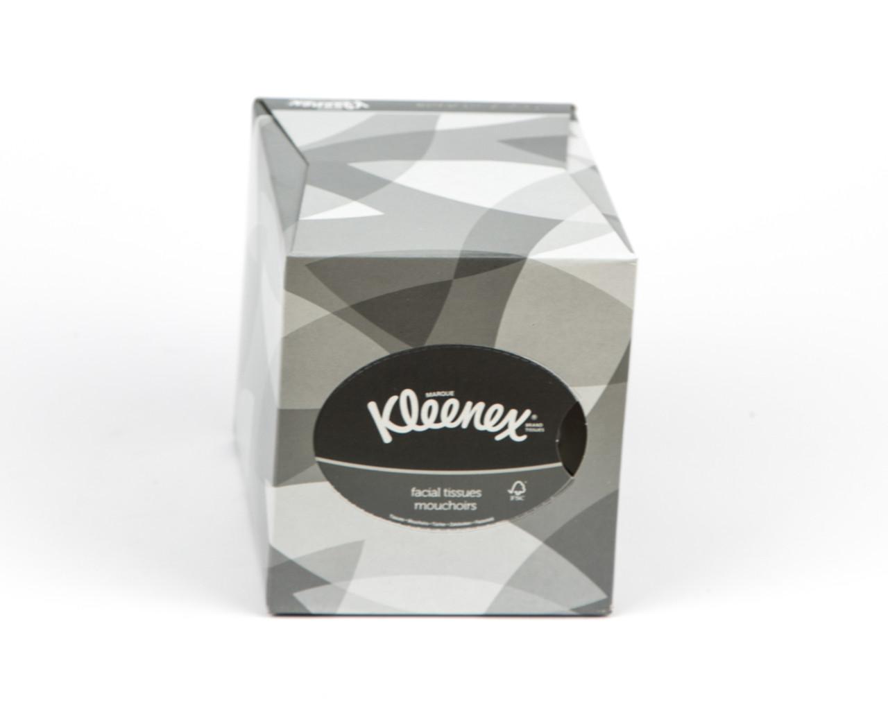 Серветки косметичні в кольровій коробці куб, 2 шар, 90 шт, Kimberly-Clark