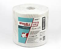 Протиральний матеріал Wypall L10 Extra + в рулоні, білий, 32гр/м2, 1000 аркушів, 1 шар, Kimberly-Clark