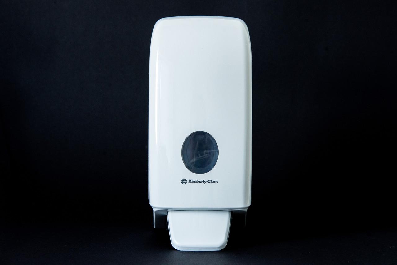 Діспенсер пластиковий білий для пінного та рідкого мила в картіджах 1 л Kimberly-Clark