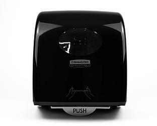 Диспенсер  пластиковий чорний для рулонних рушників Slimroll, Kimberly-Clark