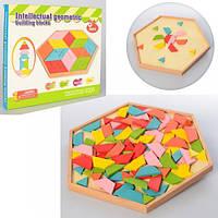 Деревянная игра Геометрическая мозаика Wooden Toys MD 2027