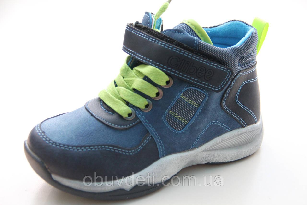 Деми ботинки для мальчиков тм clibee 27р-17,3см: