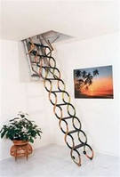 Чердачная лестница Факро (Fakro) LST 70х120, фото 1