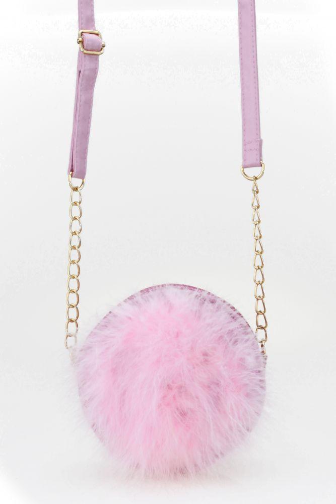 Элегантная и оригинальная розовая дамская сумочка пр. Польша RA21