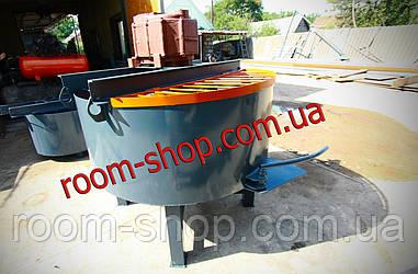 Бетонозмішувач (растворомешалка, бетономішалка,) обсягом 300 л.