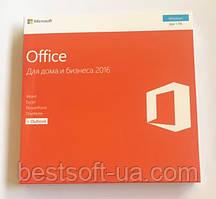 Ліцензійний Microsoft Office 2016 для Дому Та Бізнесу, RUS, Box-версія (T5D-02703)