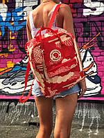 Рюкзак  Fjallraven Kanken, красного цвета. Стильный городской рюкзак. Реплика. ТОП КАЧЕСТВО!!!, фото 1