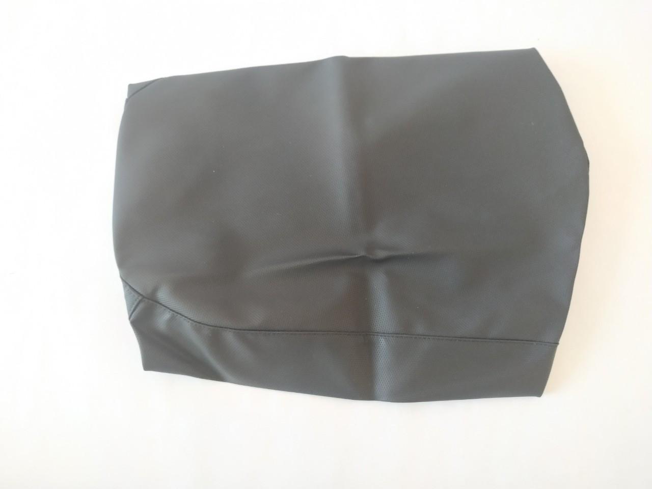 Чехол сиденья HONDA DIO AF-34/35 черный, черный кант SOTKA