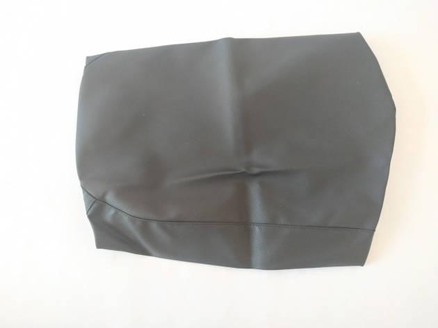 Чехол сиденья HONDA DIO AF-34/35 черный, черный кант SOTKA, фото 2