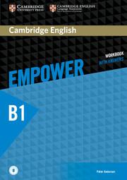 Рабочая тетрадь Cambridge English Empower B1 Pre-Intermediate WorkBook + key + Downloadable Audio