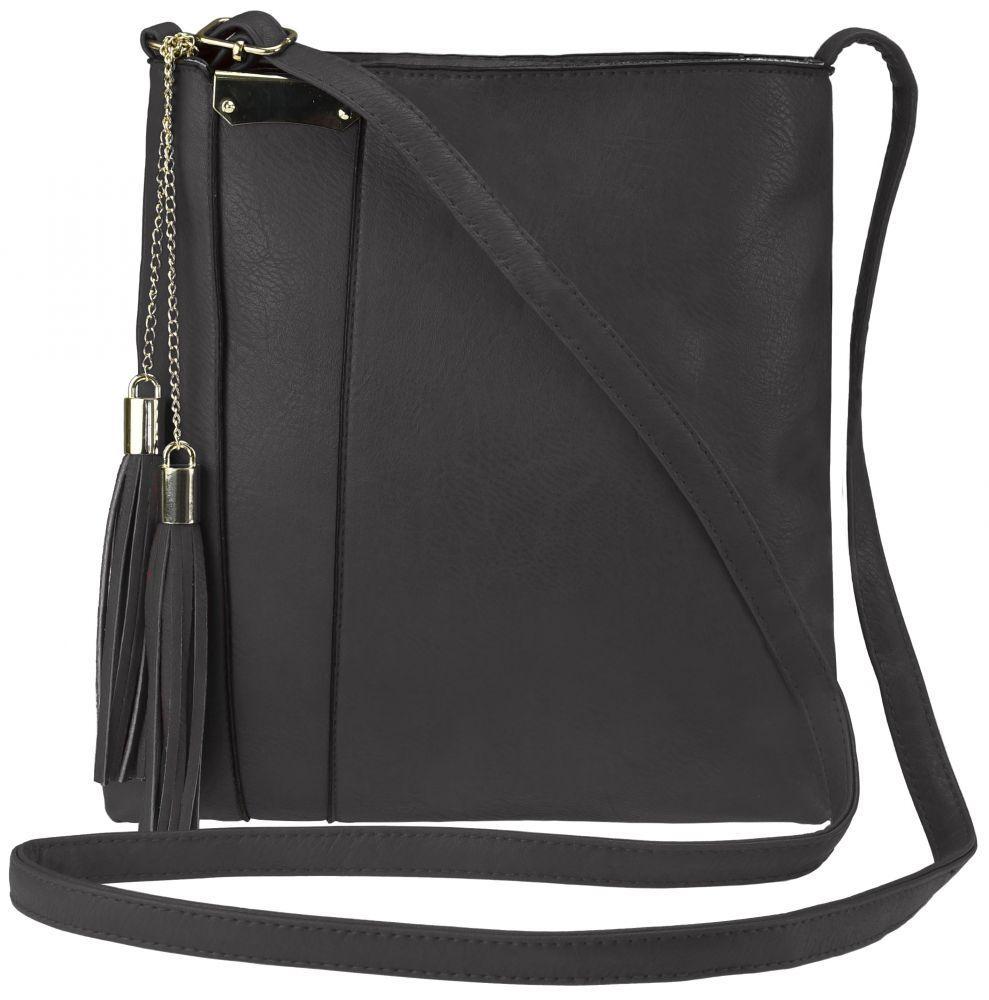 Стильная маленькая женская сумочка кросс-боди польский бренд, на ремне FB187