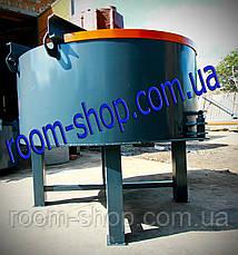 Бетоносмеситель (бетономешалка,) планетарно-роторный объемом 500 л., фото 3