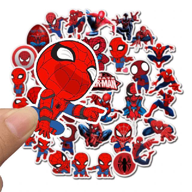 Набор наклеек Спайдермен / Spiderman / Marvel