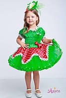 Карнавальный костюм Клубники для девочки, фото 1