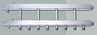 Распределительный коллектор на 4 выхода вниз HidroMix
