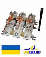 Разъединитель  РЕ19-37-311200 400А трехполюсный переднего присоединения с боковой рукояткой