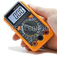 Мультиметр UK-831LN карманный в защитном чехле, подсветка дисплея