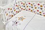 Детская постель Twins 3D Funny Stars 8 элементов, фото 6
