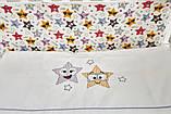 Детская постель Twins 3D Funny Stars 8 элементов, фото 8