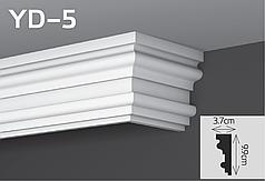 Карниз скрывающий YD-5 9,9х3,7см YUM Decor