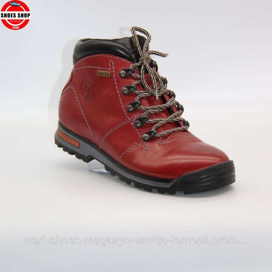 Жіночі кросівки Lesta (Польща) червоного кольору. Красиві та комфортні. Стиль: Белла Хадід