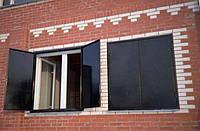 Ставни двухстворчатные на окна