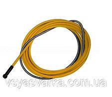 Спираль подающая (баоден) желтая 2.5_4.5 (5.4 м)
