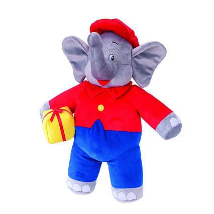 Велика мяка іграшка слон Benjamin Blümchen зі звуком