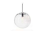 Подвесной светильник стеклянный шар d25см Е27, 1,5м