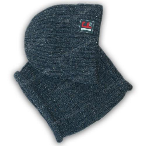 Шапка с шарфом (хомут)