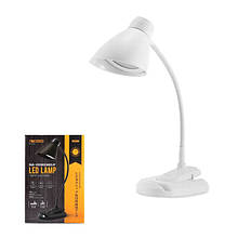 Настольная LED лампа RT-E500 - белого цвета