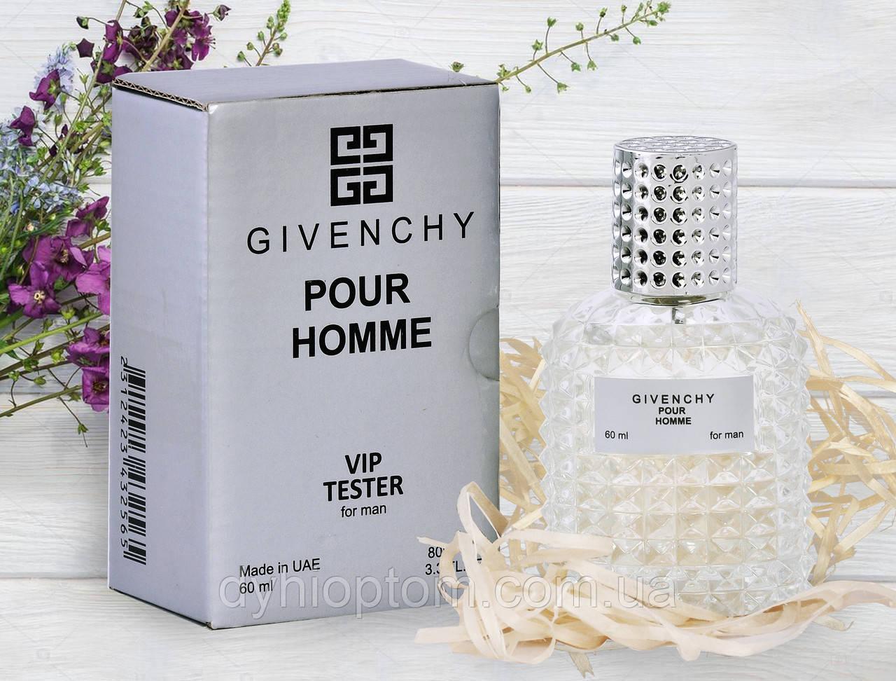 Тестер мужской VIP Givenchy Pour Homme 60ml