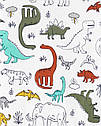 """Набор с двух пижамок 4 в 1 """"Динозавр"""" Carter's для мальчика , пижама для малыша в садик с динозаврами картерс, фото 3"""