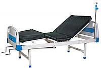 Ліжко лікарняне А25 (4-секційне, механічне)