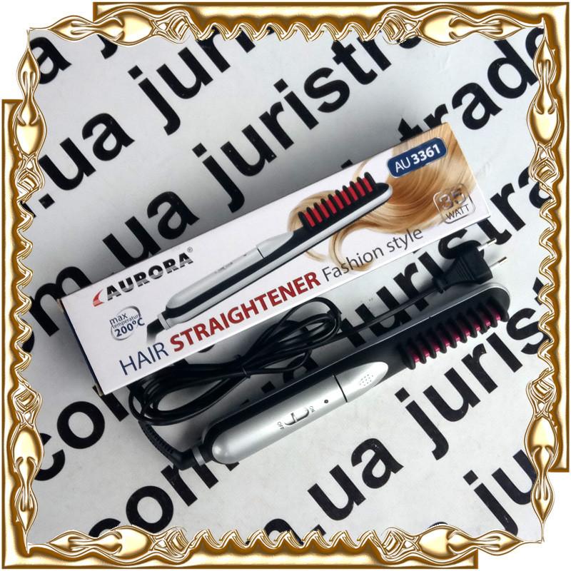 Плойка выпрямитель Aurora Hair Straightener Fashion Style 200°С, 35 Вт. №3361
