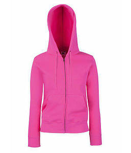 Женская премиум куртка-толстовка с капюшоном XS, 57 Малиновый
