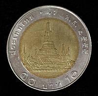 Монета Таиланда 10 бат 1997 г., фото 1