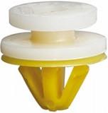 Клипса крепления внутренней обшивки (жёлто-белая)  —  Китай - SK-7059