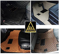 Коврики Nissan Кожаные 3D (2012+) 2