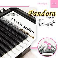 Ресницы Pandora Lashes Микс (16 линий)