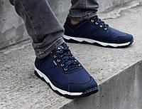 Кросівки чоловічі демісезонні сині (Кф-16с-2 )