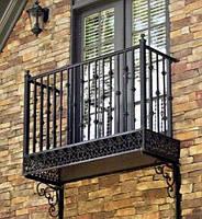 Ограждения на балкон из металла