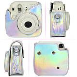 Набор для Камеры Fujifilm Instax Mini 8, 8+, 9 Чехол, Линзы, Рамки, Альбом, Стикеры от CAIUL Голографический, фото 3