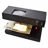 Ультрафиолетовый Детектор Валют, лампа для Денег от сетиUKC AD-2138, фото 2