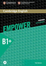 Рабочая тетрадь Cambridge English Empower B1+ Intermediate WorkBook + key + Downloadable Audio