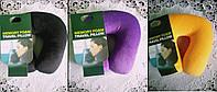 Ортопедическая подушка-рогалик для шеи 24*24